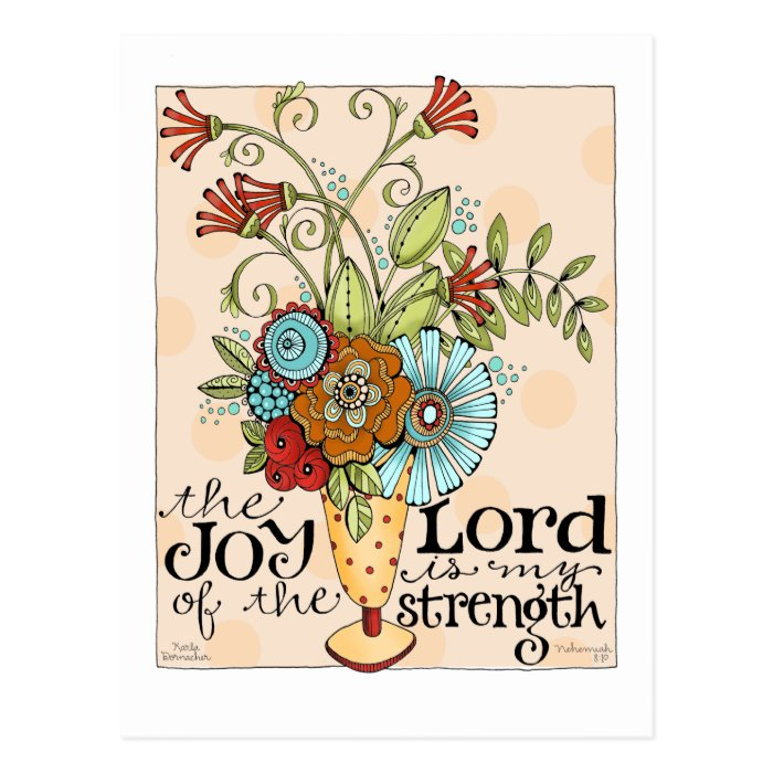 Joy of the Lord - Postcard