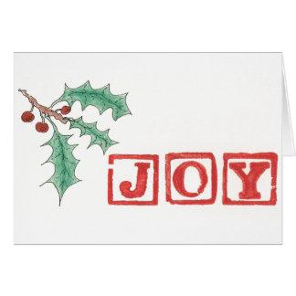 Joy of the Season Card