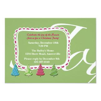Joy of the Season Party Invitation