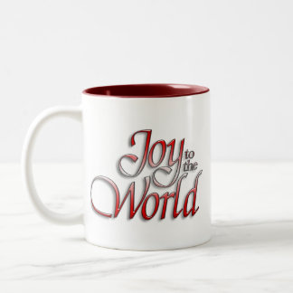 Joy of the world Two-Tone coffee mug