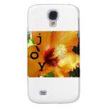 Joy - Orange Hybiscus Samsung Galaxy S4 Case