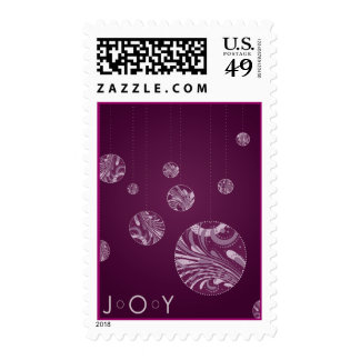 JOY_ornament Postage Stamps