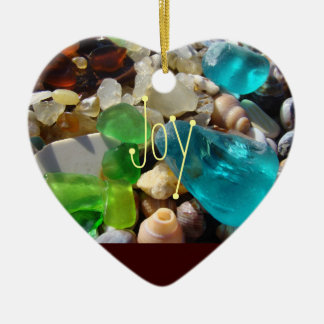 Joy ornaments You are My Joy Beach Seaglass