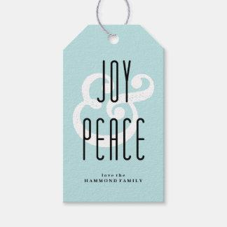 Joy & Peace Gift Tag
