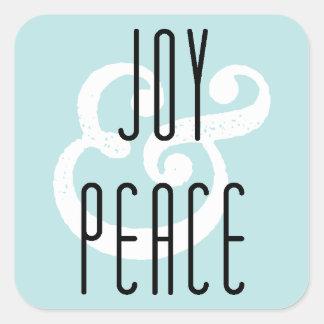 Joy & Peace Holiday Sticker