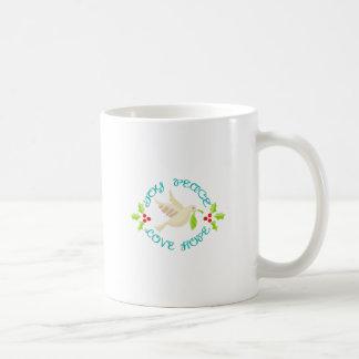 Joy Peace Love Hope Coffee Mug