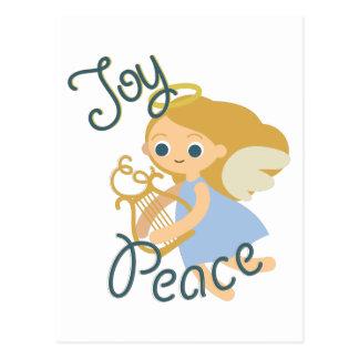 Joy & Peace Postcard