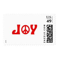 Joy Peace Sign Postage