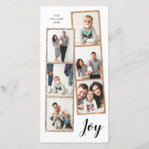 Joy | Photo Booth Film Strip Collage | Holiday
