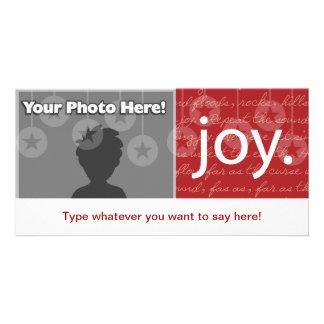 """Joy"" Photo Card"