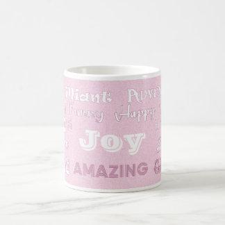 Joy Pink Best Friend Mug