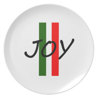 Joy Party Plate