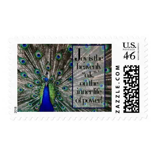 Joy Postage Stamp