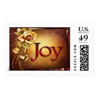 Joy - Postage Stamp