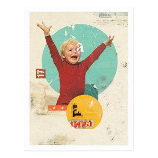 'Joy' postcard