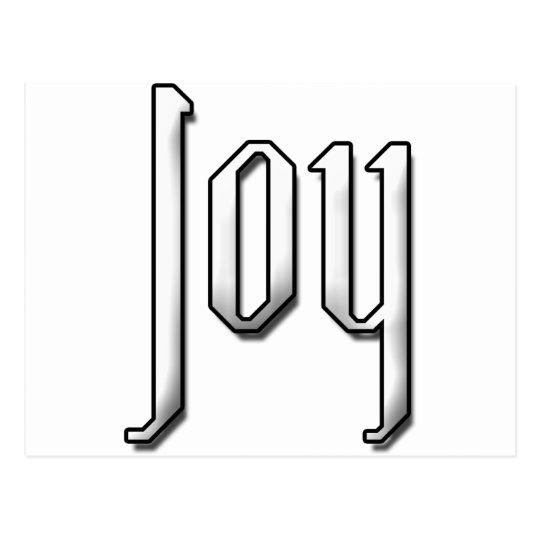 Joy Postcard