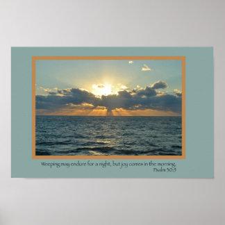 Joy (Psalm 30:5) Print