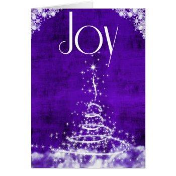 Joy Purple Card