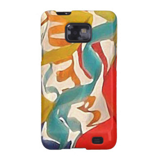 JOY Ribbons, a detail from a blown glass vessel Samsung Galaxy S2 Cover