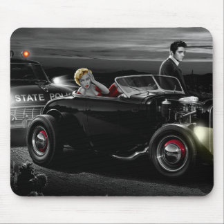 Joy Ride B&W Mouse Pad