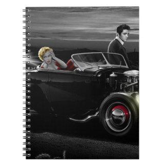 Joy Ride B&W Notebook