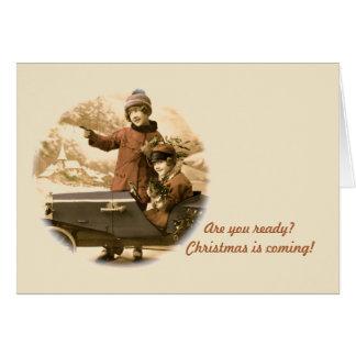 Classic Car Christmas Cards Zazzle