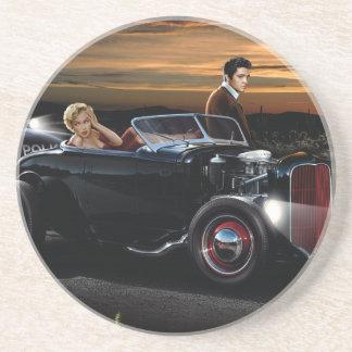 Joy Ride Sandstone Coaster