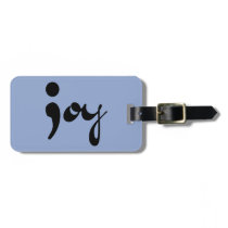 Joy Semicolon Luggage Tag