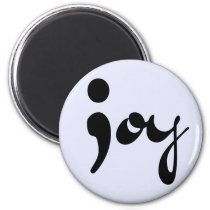 Joy Semicolon Magnet