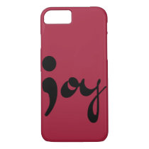 Joy Semicolon Phone Case
