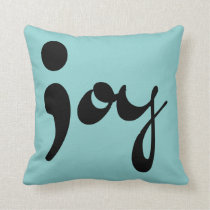Joy Semicolon Pillow