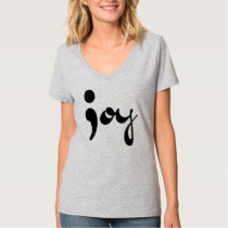 Joy Semicolon V neck shirt
