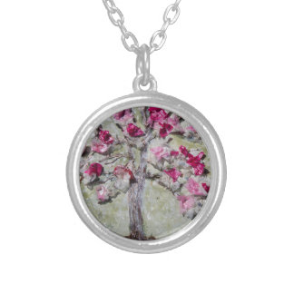 Joy Silver Plated Necklace