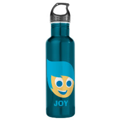 Water Bottle (24 oz) with Cute Cartoon Joy from Inside Out design