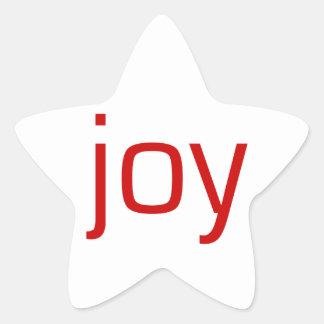 Joy Star Sticker