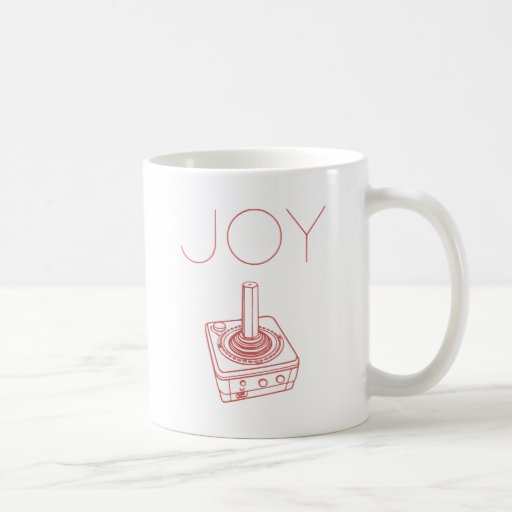 Joy (Stick) Classic White Coffee Mug