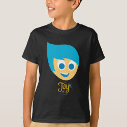 Kids' Hanes TAGLESS® T-Shirt with Cute Cartoon Joy from Inside Out design