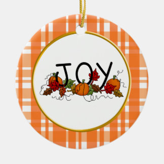 Joy Thanksgiving Ornament