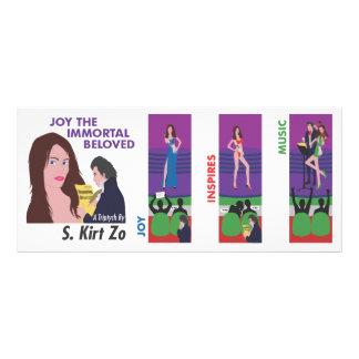 JOY THE IMMORTAL BELOVED RACK CARD
