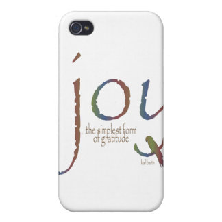 """""""Joy...the simplest form of gratitude"""" iPhone 4/4S Cover"""