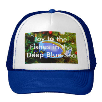 Joy to the Fishes in the Deep Blue Sea Cap Trucker Hat