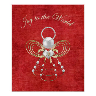 Joy to the World - Angel of Joy Poster