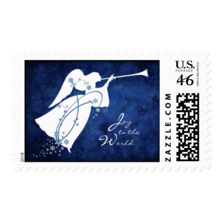 """Joy to the World"" Angel Postage"