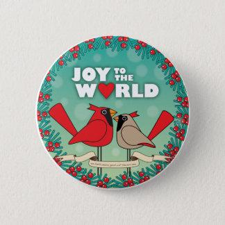 Joy to the world Button