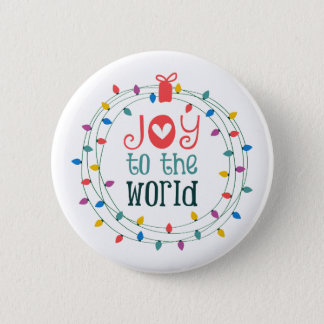 Joy To The World Button