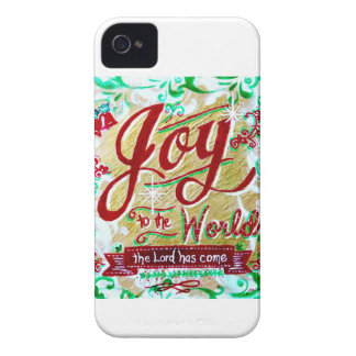 Joy to the World by Jan Marvin iPhone 4 Cases