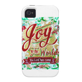 Joy to the World by Jan Marvin iPhone 4/4S Case