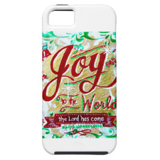 Joy to the World by Jan Marvin iPhone SE/5/5s Case