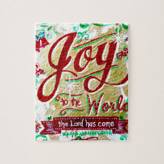Joy to the World by Jan Marvin Puzzle