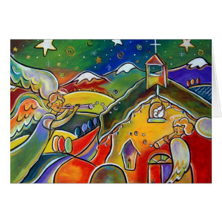 Joy to the World by Jan Oliver Card